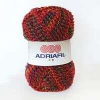 Adriafil Pintau Bouclé Aran Weight 50gm #44 Red