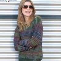 Adriafil Zebrino Gilda Sweater Pattern
