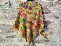 Adriafil Pintau Granny Triangle Shawl
