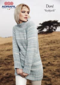 Adriafil Reykjavik sweater pattern