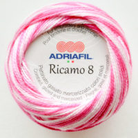Adriafil Riciamo 8 #92 Shaded Fuchsia