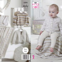 King Cole Baby 4 ply Pattern #5295