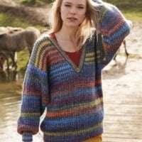 Adriafil Zebrino Brussels Sweater Pattern
