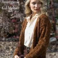Adriafil Avante Garde + Kid Mohair Ronda Cardigan Pattern