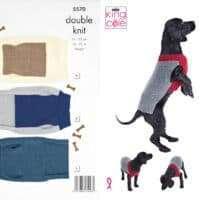 King Cole Dog Coat Pattern #5570