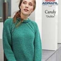 Adriafil Candy Dublin Sweater Pattern