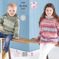 King Cole Sweater & Hoodie Pattern #5650