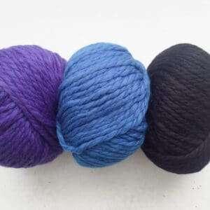 Purple, Cobalt, Black