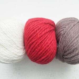 Cream, Red, Hazel