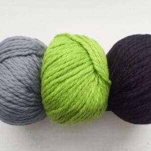 Grey, Acid Green, Black