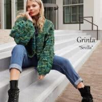 Adriafil Grinta Sevilla Cardigan Pattern