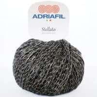 Adriafil Stellato #50 Silver/Black