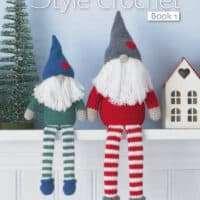 King Cole Scadinavian Crochet Book 1