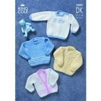 King Cole DK Baby Pattern 2909