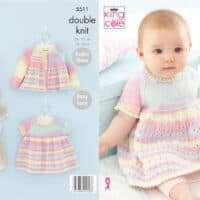 King Cole Dress, Jacket and Blanket Pattern #5511