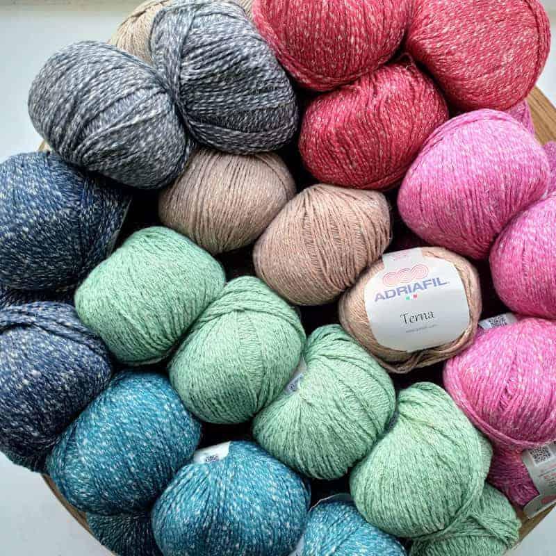 Adriafil Terna Cotton, Viscose and Linen DK