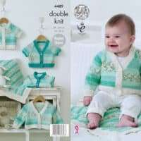 King Cole Drifter For Baby Pattern 4489