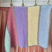 Granny Stripe Blanket Crochet Kit