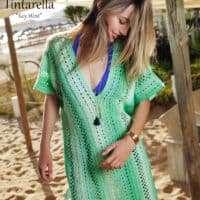 Adriafil Tintarella Key West Crocheted Kaftan