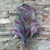 Zebrino Crocheted Shlanket Kit