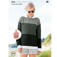 Rico DK Colour Block Sweater