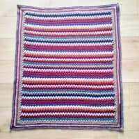 Granny Stripe Blanket Antique Colourway