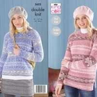 King Cold Fjord Ladies Sweater Pattern