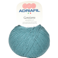 Adriaifl Genziana 4ply extra-fine merino wool 50gm #56 Iceberg