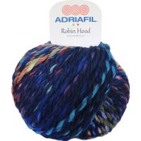 Adriafil Robin Hood Super Chunky Wool Blend #33 Blue